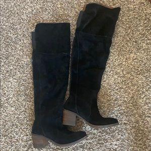 Lucky brand knee high booties
